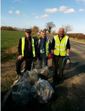 Over 100 bags of litter in 7 months