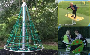 New Play Equipment - grant awarded to the council