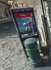 photo of BT Phone Kiosk