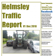 Helmsley Traffic Report Cover
